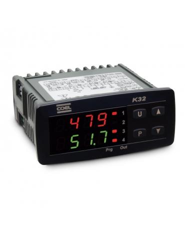 Control de temperatura 1/16 din K32PHCORRR
